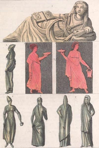 Le Costume Ancien et Moderne [Europe] Vol. 2 - XXXII. Habillement et parure des femmes chaussures (1820)