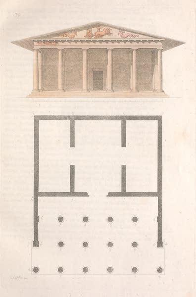 Le Costume Ancien et Moderne [Europe] Vol. 2 - XXXIV. Temple Etrusque (1820)