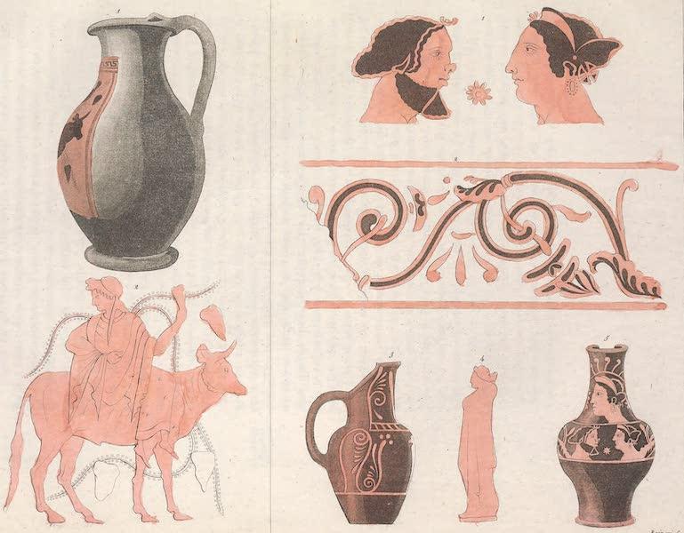 Le Costume Ancien et Moderne [Europe] Vol. 2 - XXXVII. Vases Etrusques [I] (1820)
