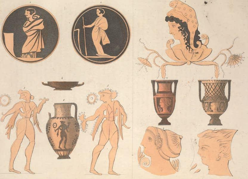 Le Costume Ancien et Moderne [Europe] Vol. 2 - XXXVIII. Vases Etrusques [II] (1820)