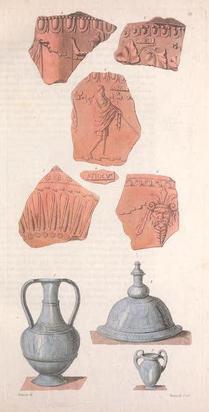 Le Costume Ancien et Moderne [Europe] Vol. 2 - XXXIX. Vases d'Arezzo (1820)