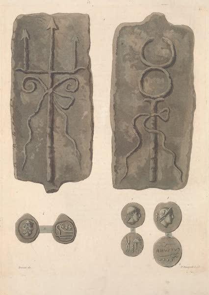 Le Costume Ancien et Moderne [Europe] Vol. 2 - XLI. Monnaies carrees etc. (1820)