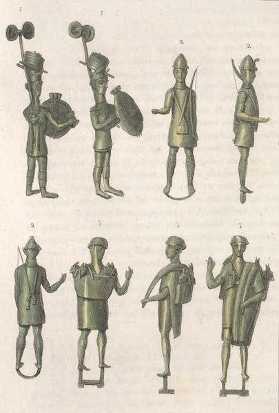 Le Costume Ancien et Moderne [Europe] Vol. 2 - XLII. Comment etaient armes les soldats de l'ile de Sardaigne (1820)