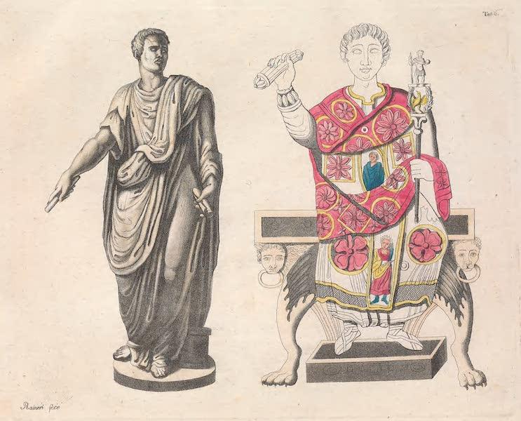 Le Costume Ancien et Moderne [Europe] Vol. 2 - VI. Un senateur Romain. Un consul du bas-empire (1820)