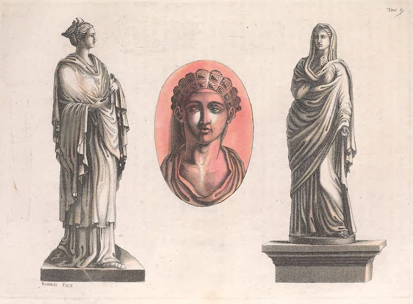 Le Costume Ancien et Moderne [Europe] Vol. 2 - IX. Plotine, Sabine, Imperatrices (1820)