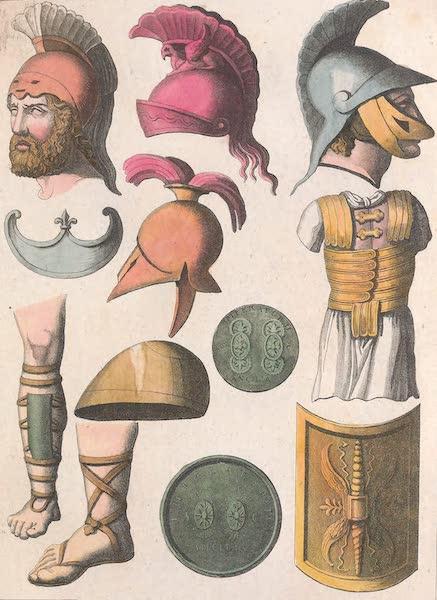 Le Costume Ancien et Moderne [Europe] Vol. 2 - XII. Armes defensives (1820)