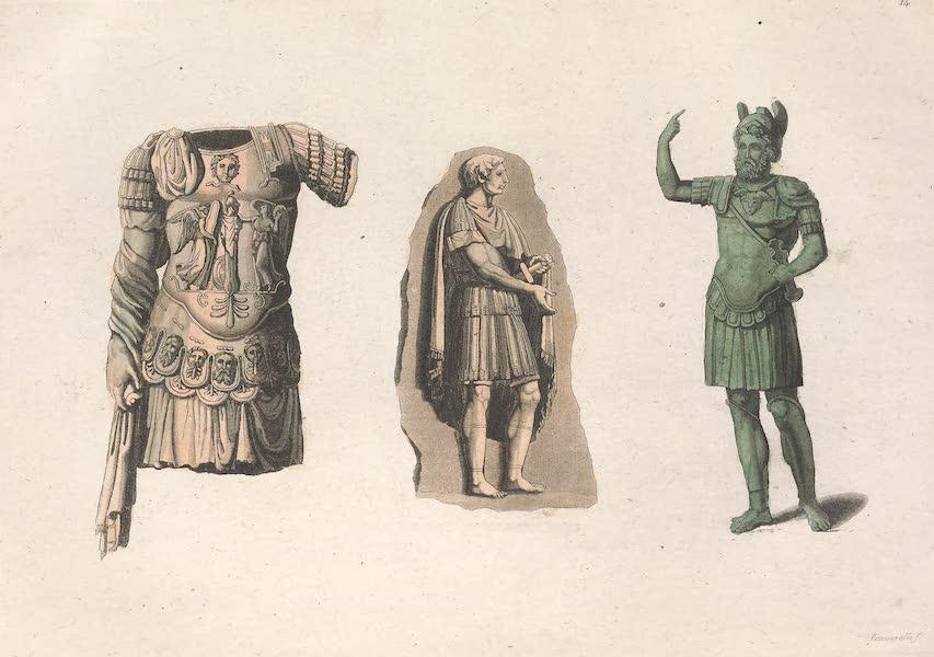 Le Costume Ancien et Moderne [Europe] Vol. 2 - XIV. Generaux, Tribuns, Centurions (1820)