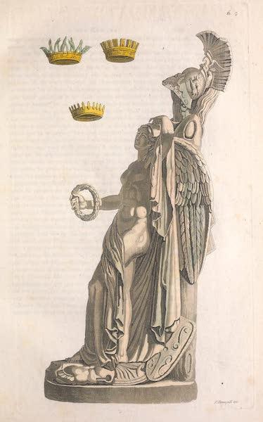 Le Costume Ancien et Moderne [Europe] Vol. 2 - XVI. Trophees et couronnes (1820)