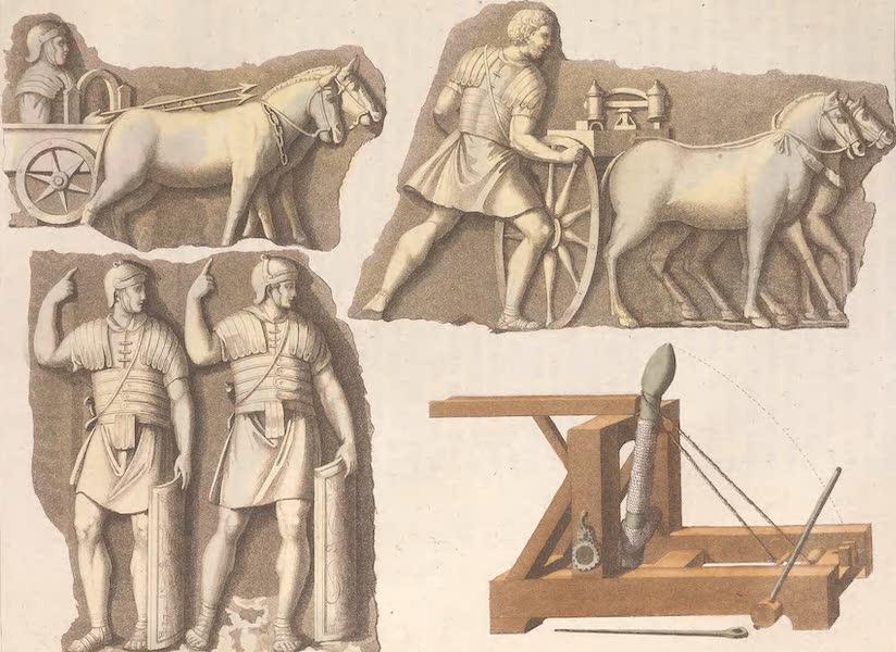 Le Costume Ancien et Moderne [Europe] Vol. 2 - XIX. Pretoriens et machines militaires  (1820)