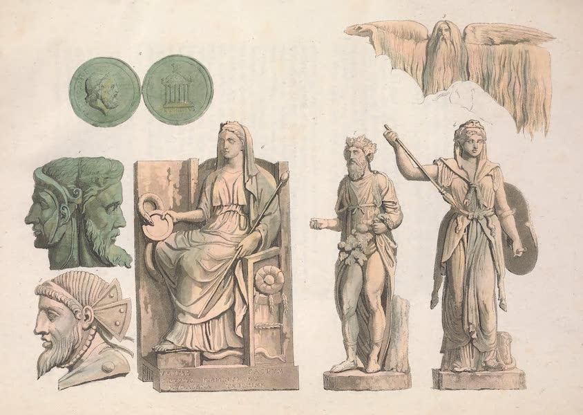 Le Costume Ancien et Moderne [Europe] Vol. 2 - XXIII. Divinite des Romains  (1820)