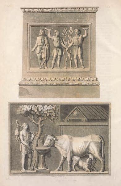 Le Costume Ancien et Moderne [Europe] Vol. 2 - XXV. Lares des chemins ou Augusti et Lustration (1820)