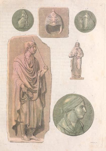 Le Costume Ancien et Moderne [Europe] Vol. 2 - XXVII. Flamines, Augures, Vestales, Saliens (1820)