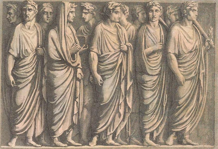 Le Costume Ancien et Moderne [Europe] Vol. 2 - XXVIII. Pompe sacree de personnes qui vont a un sacrifice (1820)
