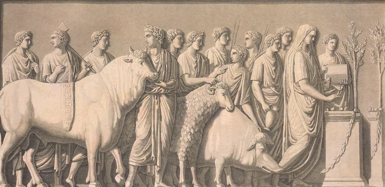 Le Costume Ancien et Moderne [Europe] Vol. 2 - XXIX. Sacrifice appele Suovetaurilia (1820)