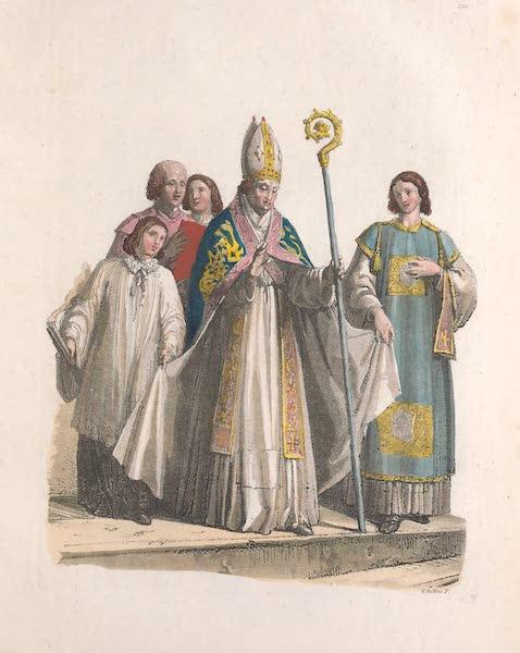 Le Costume Ancien et Moderne [Europe] Vol. 2 - XXXII. Eveques et Diacres (1820)