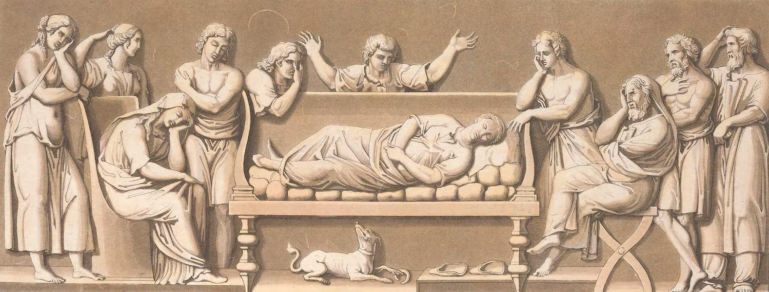 Le Costume Ancien et Moderne [Europe] Vol. 2 - XXXVI. Funerailles ordinaires (1820)