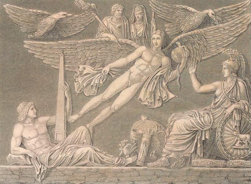 Le Costume Ancien et Moderne [Europe] Vol. 2 - XXXVIII. Apotheose d'Antoine et de Faustine (1820)