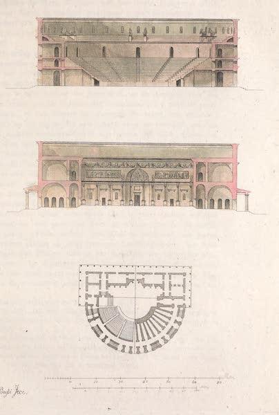 Le Costume Ancien et Moderne [Europe] Vol. 2 - XLI. Theatre a'Herculanum (1820)