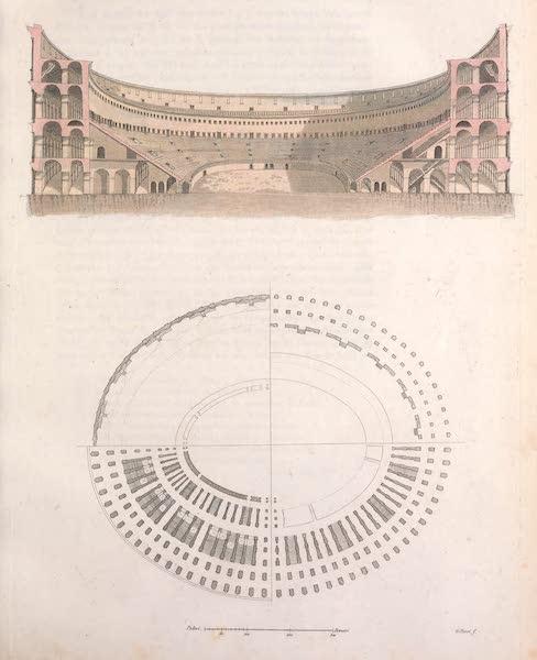Le Costume Ancien et Moderne [Europe] Vol. 2 - XLII. Interieur et exterieur du Colisee [I] (1820)