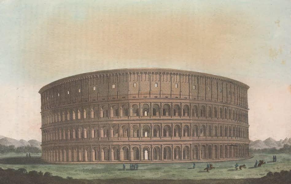 Le Costume Ancien et Moderne [Europe] Vol. 2 - XLIII. Interieur et exterieur du Colisee [II] (1820)