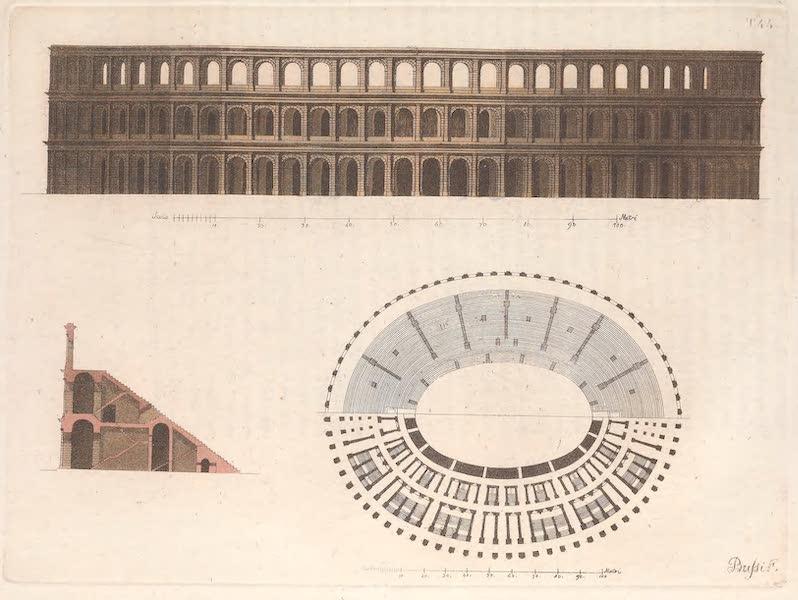Le Costume Ancien et Moderne [Europe] Vol. 2 - XLIV. Amphiteatre de Veronne (1820)