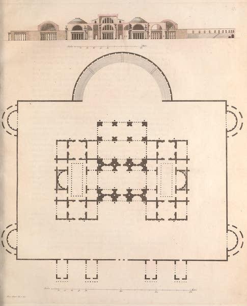 Le Costume Ancien et Moderne [Europe] Vol. 2 - XLVII. Thermes de Titus (1820)