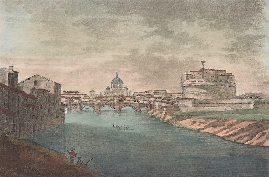 Le Costume Ancien et Moderne [Europe] Vol. 2 - XLIX. Chateau et Pont Saint-Ange (1820)