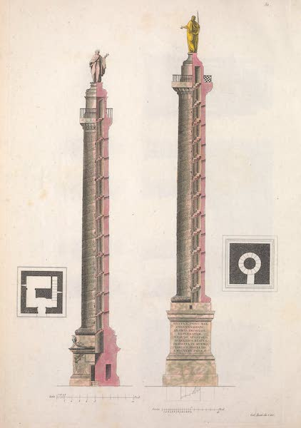 Le Costume Ancien et Moderne [Europe] Vol. 2 - L. Colonne Trajanne et Antonine (1820)