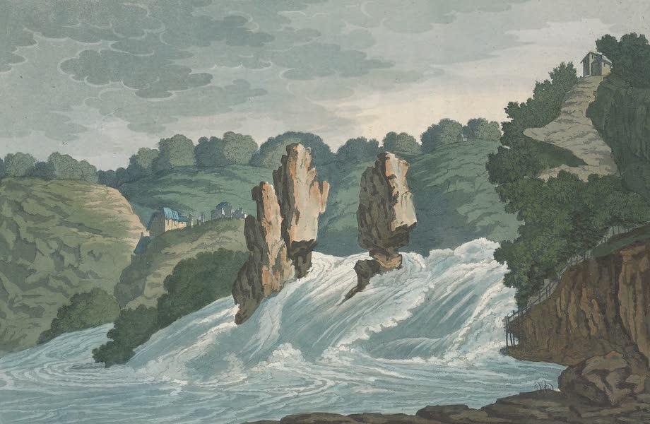 Le Costume Ancien et Moderne [Europe] Vol. 4 - V. Chute du Rhin a Lauffen VL Chateau de Hapsbourg (1824)
