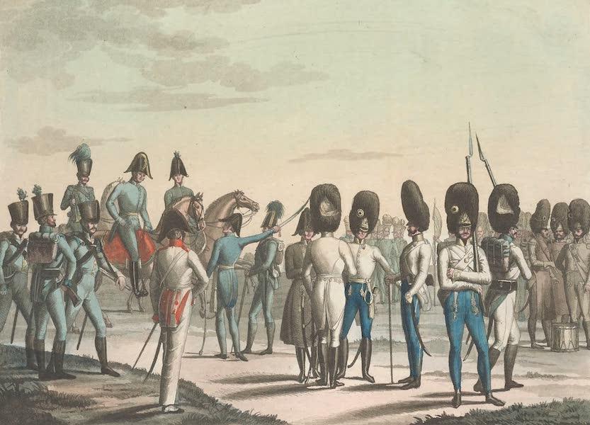 Le Costume Ancien et Moderne [Europe] Vol. 4 - XCV. Grenadiers et chasseurs (1824)
