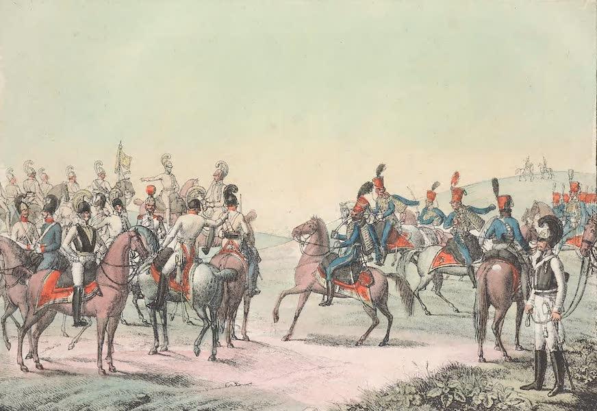 XCVI. Cuirassiers, hussards, chevau-legers, dragons