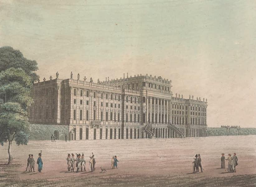 Le Costume Ancien et Moderne [Europe] Vol. 4 - C. Vue du palais imp. de Schoenbrun du cote des jardins (1824)