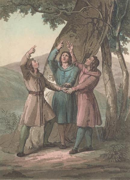 Le Costume Ancien et Moderne [Europe] Vol. 4 - X. Les trois chefs de la Confederation Helvetique (1824)