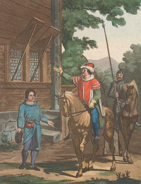 Le Costume Ancien et Moderne [Europe] Vol. 4 - XI. Le gouverneur Gessler (1824)