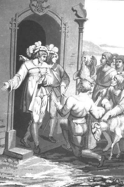 Le Costume Ancien et Moderne [Europe] Vol. 4 - XII. Presens des Suisses au Bailli de Landerberg (1824)