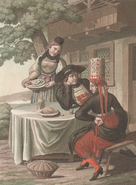 Le Costume Ancien et Moderne [Europe] Vol. 4 - XX. Epoux du canton de Schaffouse (1824)