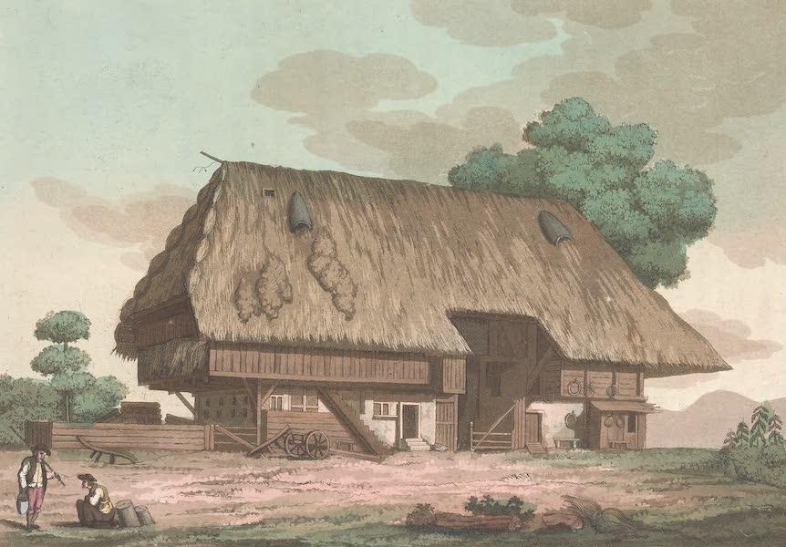 Le Costume Ancien et Moderne [Europe] Vol. 4 - XXIII. Maison d'un paysan Suisse (1824)