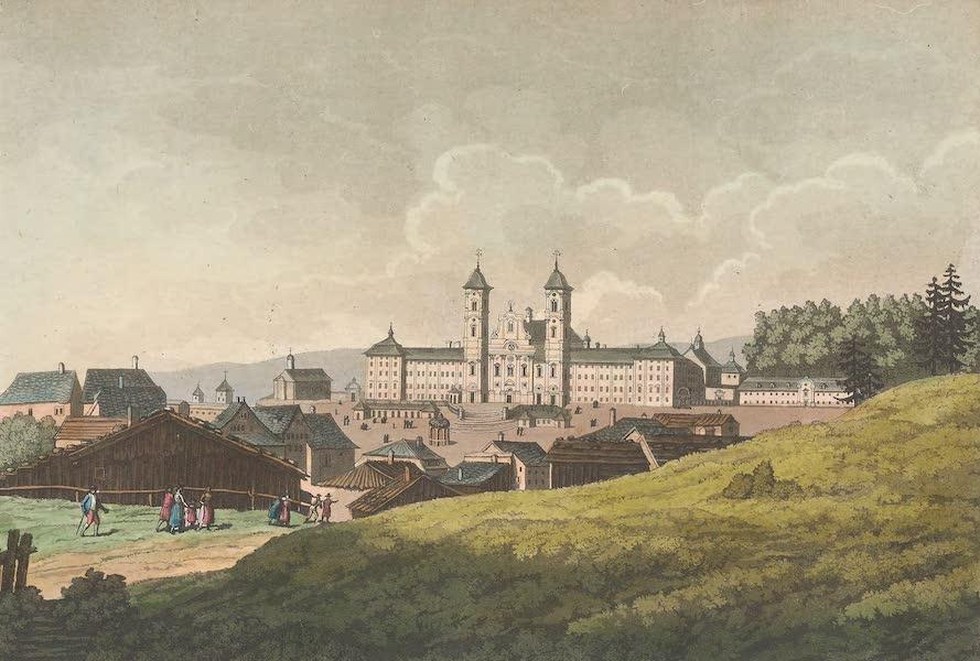 Le Costume Ancien et Moderne [Europe] Vol. 4 - XXV. Abbaye d'Einsidlen (1824)