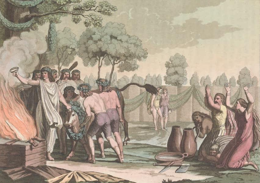 Le Costume Ancien et Moderne [Europe] Vol. 4 - XXXIV. Sacrifices, sortileges, auspices et autres rites des anciens Germains (1824)