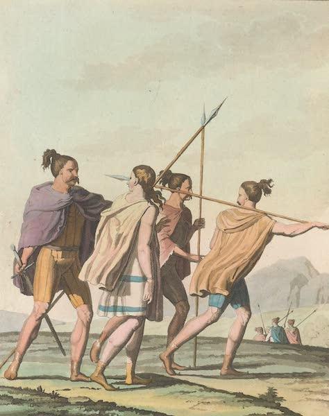 Le Costume Ancien et Moderne [Europe] Vol. 4 - XXXVI. Anciens Germains en voyage (1824)