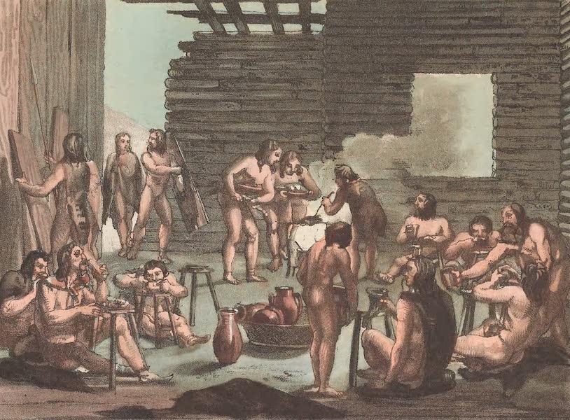 Le Costume Ancien et Moderne [Europe] Vol. 4 - XXXVII. Banquets des anciens Germains (1824)