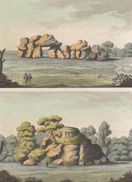Le Costume Ancien et Moderne [Europe] Vol. 4 - XXXVIII. Anciens monumens sepulcraux de l'Olsace (1824)