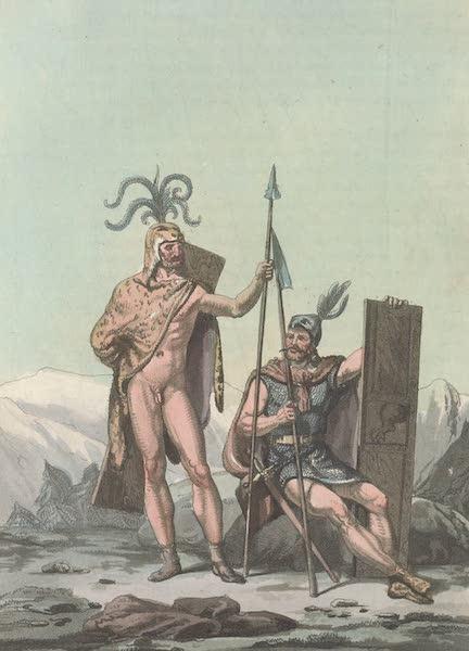 Le Costume Ancien et Moderne [Europe] Vol. 4 - XLIV. Chef ou commandant de la milice chez les Germains (1824)