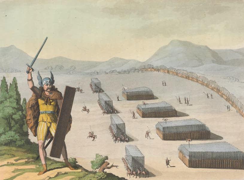Le Costume Ancien et Moderne [Europe] Vol. 4 - XLVI. Camp des anciens Germains (1824)