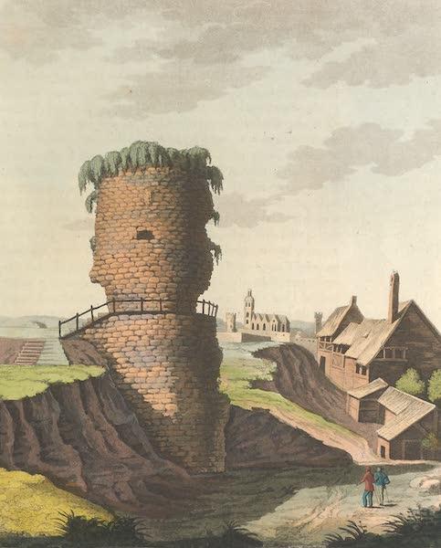 Le Costume Ancien et Moderne [Europe] Vol. 4 - XLVIL Vestiges qu'on croit etre des restes du tombeau de Drusus pres Mayence (1824)