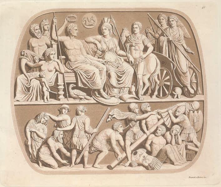 Le Costume Ancien et Moderne [Europe] Vol. 4 - XLVIII. Pierre precieuse, dite Augustea, du Musee imperial de Vienne (1824)