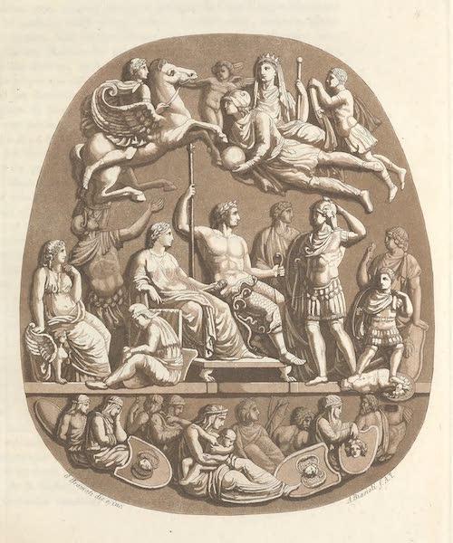 XLIX. Pierre precieuse, dite de la S.<sup>te</sup> Chapelle, qui se voit dans, le Musee de Paris