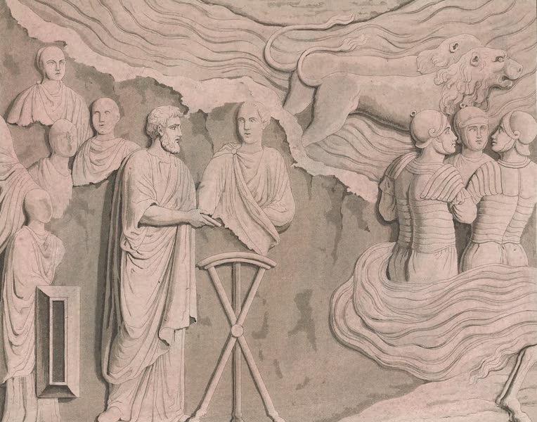 Le Costume Ancien et Moderne [Europe] Vol. 4 - LI. Fragment de la colonne Antonie (1824)
