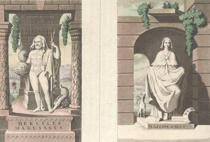 Le Costume Ancien et Moderne [Europe] Vol. 4 - LIV. Hercule Magusanus : Deesse Nealennia (1824)