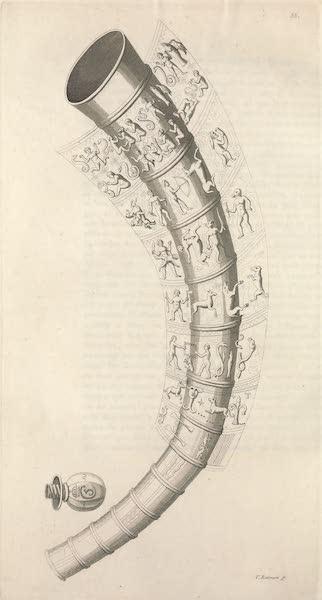 Le Costume Ancien et Moderne [Europe] Vol. 4 - LV. Corne a l'usage de verre, a Tundern (1824)